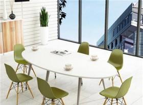 六人位小型會議桌