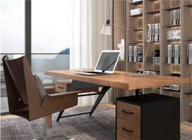 實木創意簡約老板桌