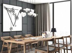 美式實木小型會議桌