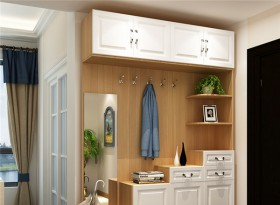 现代门厅简约储物柜