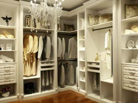 整體衣柜不同部位的不同清潔方法