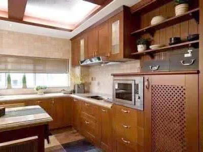 中式廚房裝修設計指南